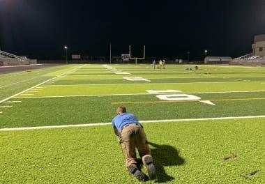 Football Field Maintenance